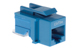 Cat5e Tool Less RJ45 Keystone Jack, Blue