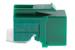 Cat5e Tool Less RJ45 Keystone Jack, Green