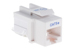 Cat5e Tool Less RJ45 Keystone Jack, White