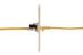 Cat6 Tool Less RJ45 Keystone Jack, Black