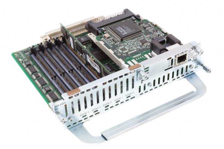 Cisco 12 Channel Voice/Fax Network Module, NM-HDV-1T1-12