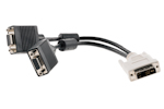 DVI-A Male to VGA Female Splitter Cable