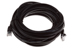 CAT5e Ethernet Patch Cable, Snagless, 25 Foot, Black
