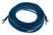 CAT5e Ethernet Patch Cable, Booted, 25ft, Blue