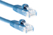 CAT5e Ethernet Patch Cable, Snagless, 50 Foot, Blue