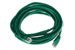 CAT5e Ethernet Patch Cable, Snagless, 15 Foot, Green