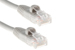 CAT5e Ethernet Patch Cable, Snagless, 3 Foot, Gray