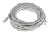 CAT5e Ethernet Patch Cable, Snagless, 25 Foot, Gray