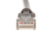 Cat5e Crossover Ethernet Patch Cable, Booted, 25ft, Gray