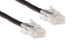 CAT5e Ethernet Patch Cable, Non-Booted, 1 Foot, Black