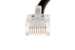CAT5e Ethernet Patch Cable, Non-Booted, 2 Foot, Black