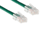 CAT5e Ethernet Patch Cable, Non-Booted, 0.5 Foot, Green