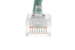 CAT5e Ethernet Patch Cable, Non-Booted, 7ft, Green