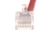 CAT5e Ethernet Patch Cable, Non-Booted, 0.5 Foot, Red