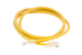 CAT5e Ethernet Patch Cable, Non-Booted, 3 Foot, Yellow