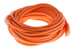 CAT5e Ethernet Patch Cable, Booted, 35ft, Orange