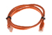 Cat5e Crossover Ethernet Patch Cable, Snagless, 3', Orange