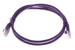 CAT5e Ethernet Patch Cable, Snagless, 3 Foot, Purple