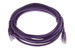 CAT5e Ethernet Patch Cable, Booted, 10ft, Purple