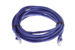 CAT5e Ethernet Patch Cable, Snagless, 14 Foot, Purple