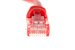 CAT5e Ethernet Patch Cable, Snagless, 1 Foot, Red