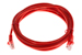 CAT5e Ethernet Patch Cable, Snagless, 7 Foot, Red