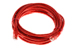 CAT5e Ethernet Patch Cable, Snagless, 14 Foot, Red