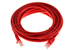 CAT5e Ethernet Patch Cable, Snagless, 20 Foot, Red
