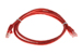 Cat5e Crossover Ethernet Patch Cable, Snagless, 3', Red