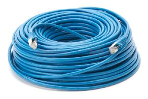CAT5e Shielded Ethernet Patch Cable, Snagless, 150 Foot, Blue