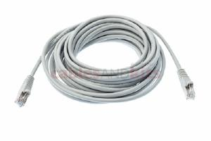 CAT5e Shielded Ethernet Patch Cable, Snagless, 25 Foot, Gray