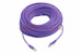 CAT5e Shielded Ethernet Patch Cable, Snagless, 100 Foot, Purple