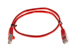 CAT5e Shielded Ethernet Patch Cable, Snagless, 2 Foot, Red