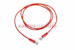 CAT5e Shielded Ethernet Patch Cable, Snagless, 5 Foot, Red