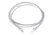 CAT5e Ethernet Patch Cable, Booted, 5ft, White