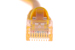 CAT5e Ethernet Patch Cable, Booted, 14ft, Yellow