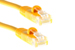 CAT5e Ethernet Patch Cable, Booted, 35ft, Yellow