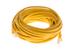CAT5e Ethernet Patch Cable, Snagless, 35 Foot, Yellow