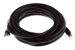 CAT6A Ethernet Patch Cable, Snagless, 20', Black