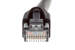 CAT6A Ethernet Patch Cable, Snagless, 75', Black