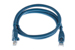 CAT6A Ethernet Patch Cable, Snagless, 3', Blue