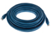CAT6A Ethernet Patch Cable, Snagless, 35', Blue