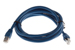 CAT6A Shielded Ethernet Patch Cable, Snagless, 7', Blue