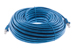 CAT6A Shielded Ethernet Patch Cable, Snagless, 100', Blue