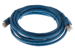 CAT6A Shielded Ethernet Patch Cable, Booted, 10ft, Blue