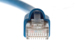 CAT6A Shielded Ethernet Patch Cable, Snagless, 10', Blue