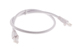 CAT6A Ethernet Patch Cable, Snagless, 2', White