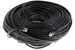 CAT6 Ethernet Patch Cable, Booted, 200ft, Black