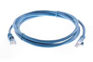 CAT6 Ethernet Patch Cable, Snagless, 5', Blue