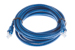 CAT6 Ethernet Patch Cable, Snagless, 10', Blue